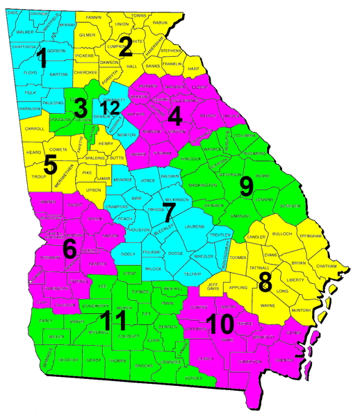 Middle District Of Georgia Map.Middle District Of Georgia Map