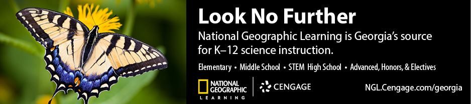 National Geographic Learning is Georgia's source for K-12 science instruction.
