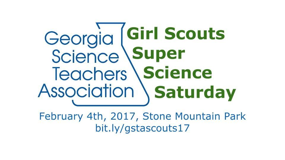 Girl Scout Super Science Saturday