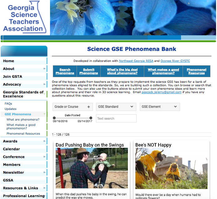 Georgia Science Teachers Association - Newsletter Ad Placement